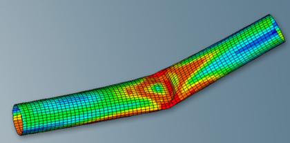 Structural Analysis - Post Buckling Pipe Analysis