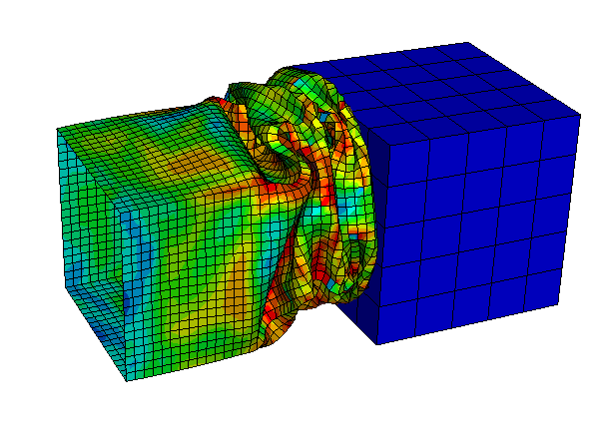 SIMULIA Abaqus Explicit - Crashbox Analysis